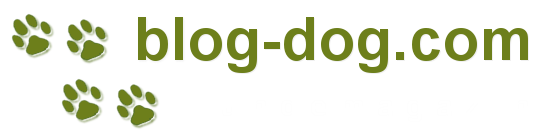 blog dog logo